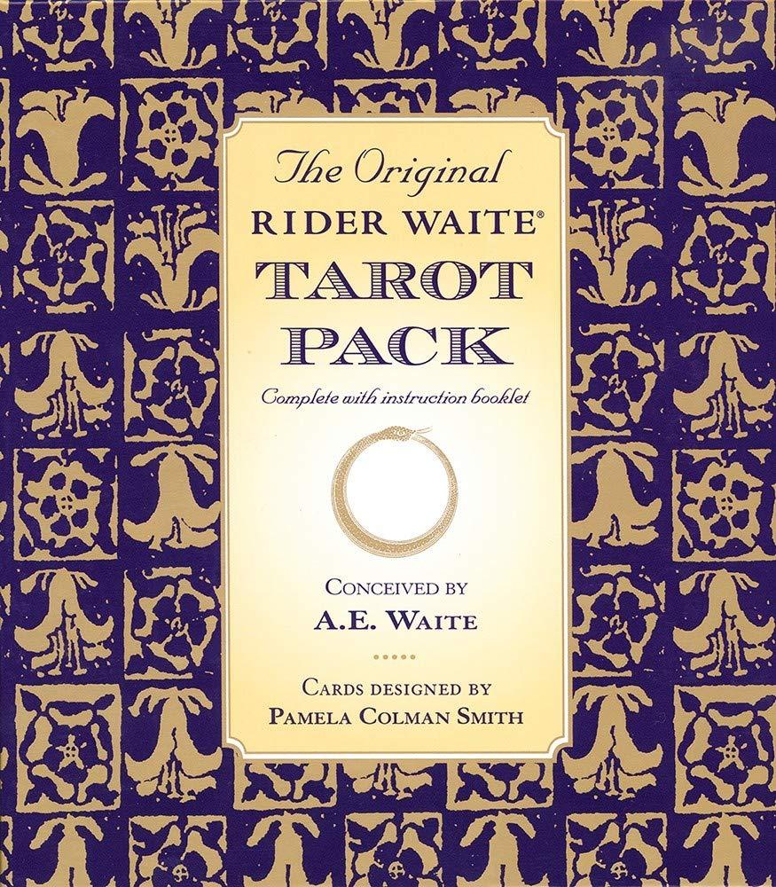 The Original Rider Waite Tarot Pack: Arthur Edward Waite ...