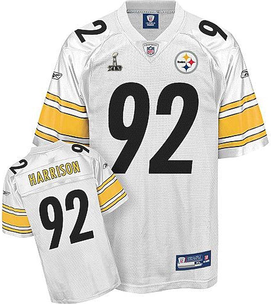 Amazon.com: Super Bowl XLV Pittsburgh Steelers James Harrison Logo ...