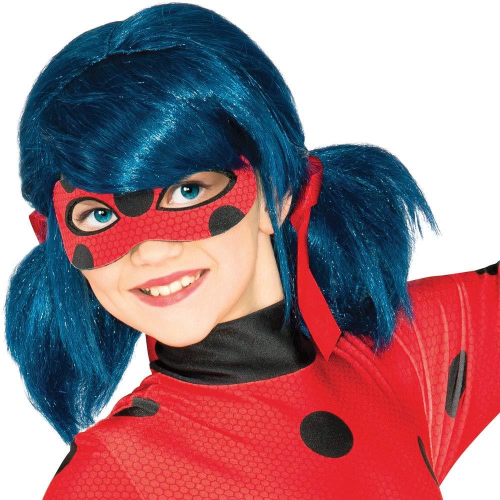 Rubies Costume Co Inc Girls Miraculous Ladybug Wig Blue