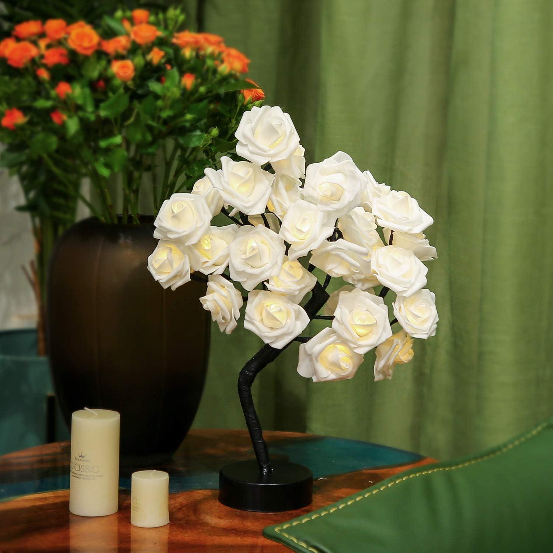 Brightdeco LED Rose Tree Lamp 18