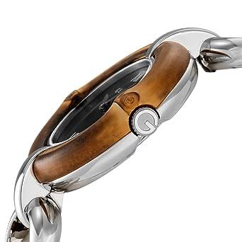f0cc9803e10 Gucci Bamboo Black Dial Ladies Watch YA132407  Amazon.ca  Watches