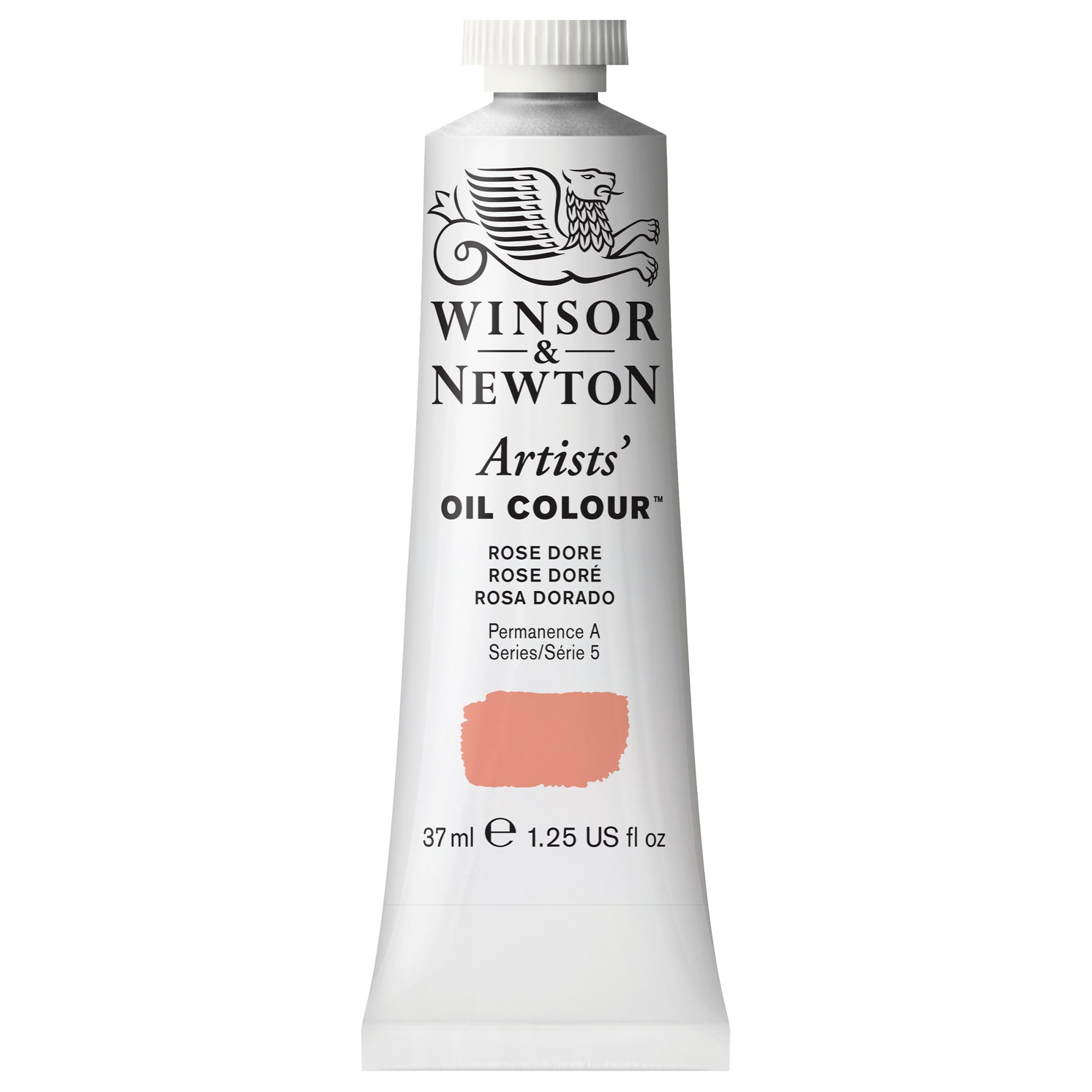 Winsor & Newton Artists' Oil Colour Paint, 37ml Tube, Rose Dore by Winsor & Newton