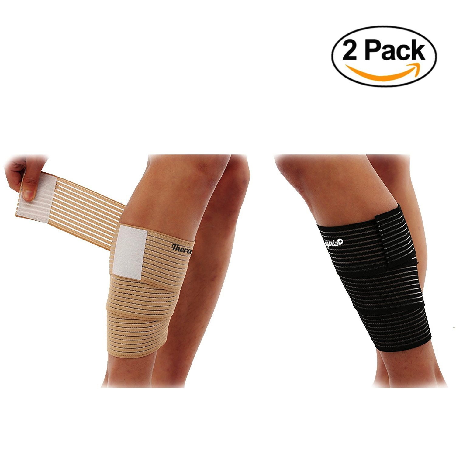 Calf Wraps for Running Sleeve Package Leg Wraps Calf Wraps Calf Guard for Men and Women 2 Pairs