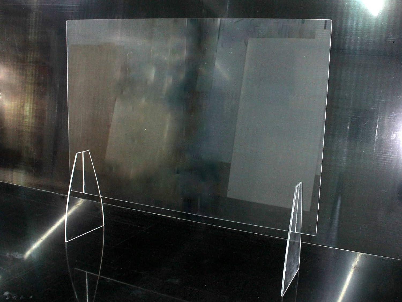 Barrera de contagio Grupo B58 Mampara mostrador
