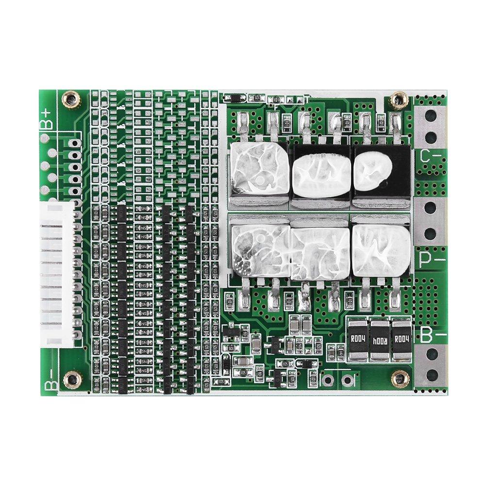 Meiyya Li Ion Akku BMS Protection Board 36V 35A 10S f/ür tern/äre Kobaltzellen mit Balancing
