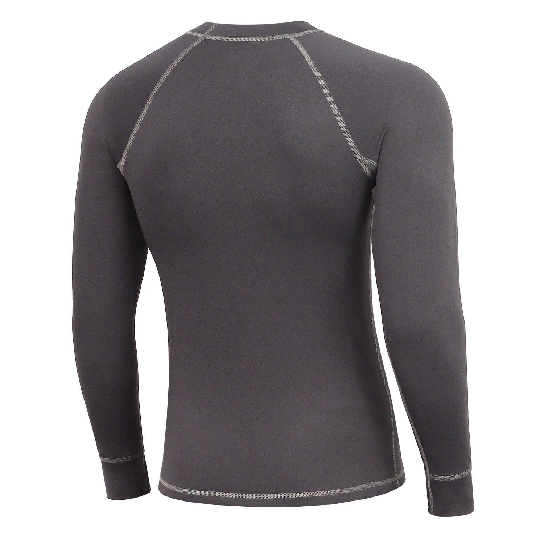 Mount Swiss Davos - Ropa interior térmica para hombre, camiseta de manga larga: Amazon.es: Deportes y aire libre