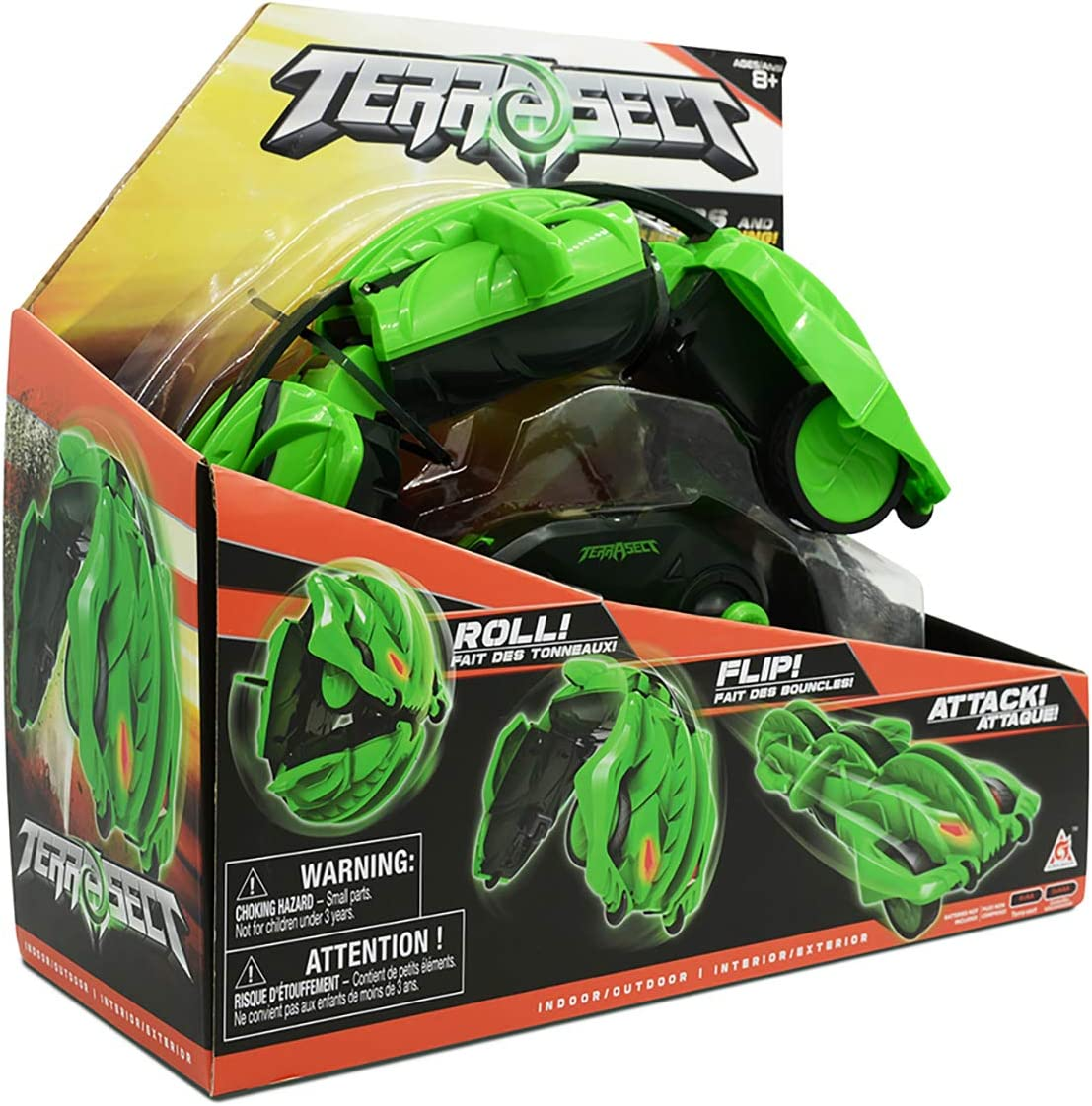 Drone Force Terrasect Remote Relentless Rolling Reptile 35cm 2.4 Gigahertz Controller 63% OFF £14.99 @ Amazon