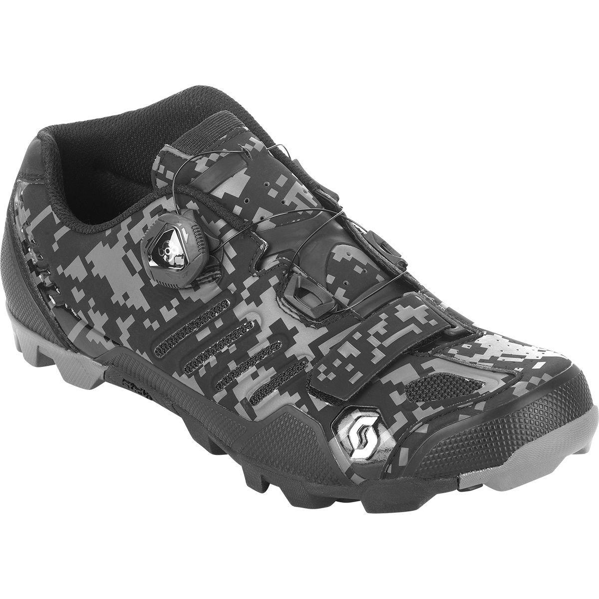 スコットMTB shr-alp RS靴 – Men 'sマットブラック/マット無煙炭、44.0   B078Z13M4M