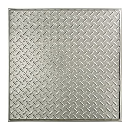 Fasade Easy Installation Diamond Plate Revealed Edge Brushed