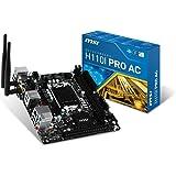MSI Intel Skylake H110 LGA 1151 DDR4 USB 3.1 Mini ITX Motherboard (H110I Pro AC)