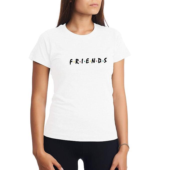 tienda del reino unido disfruta el precio más bajo predominante CHILLTEE Friends Cool Fun Style Friends TV Series Camiseta ...