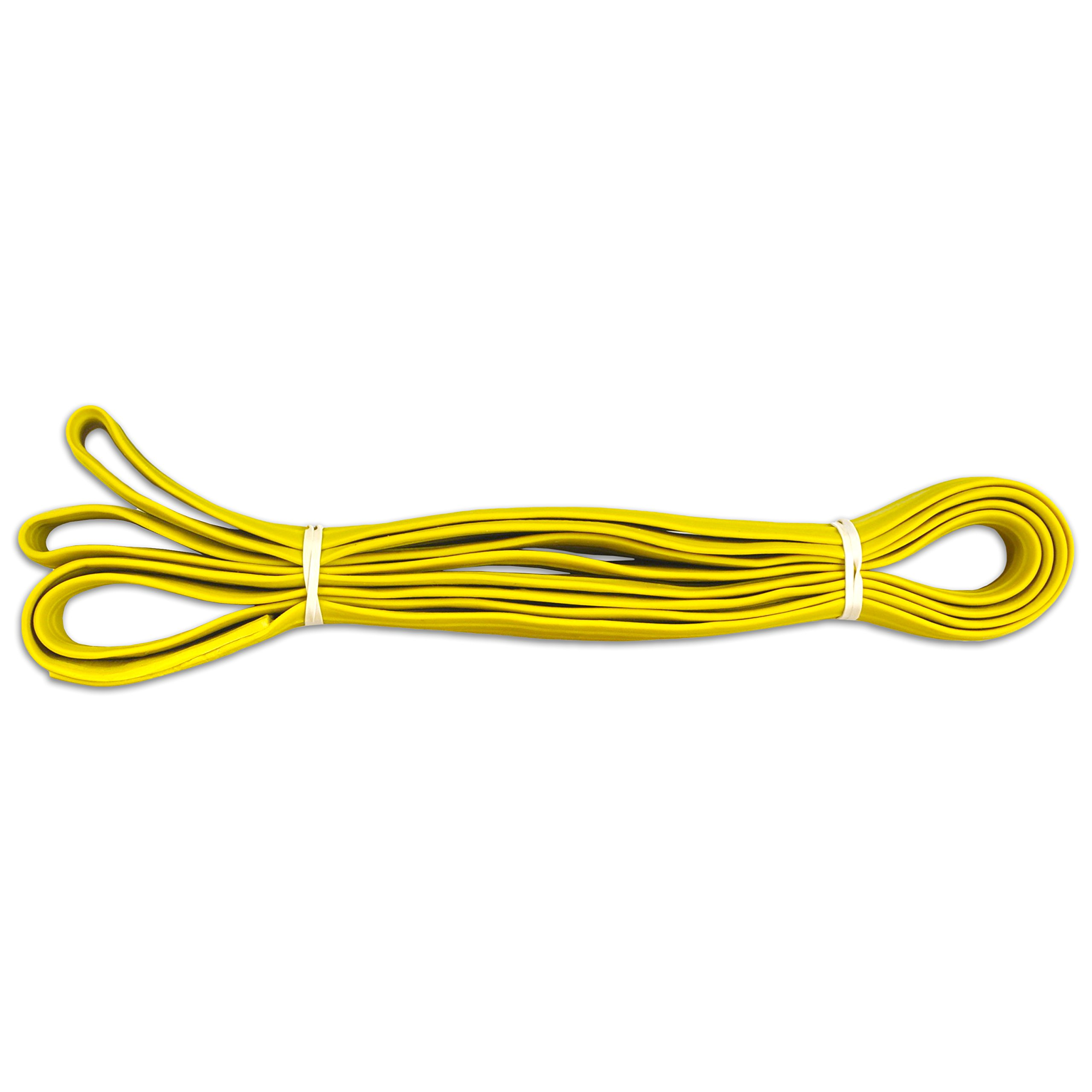 Alliance Rubber 2403203 Pallet Bands, 12 Extra Large 84'' Industrial Strength Heavy Duty Rubber Bands (84'' x 1'' x 1/16'', Yellow)