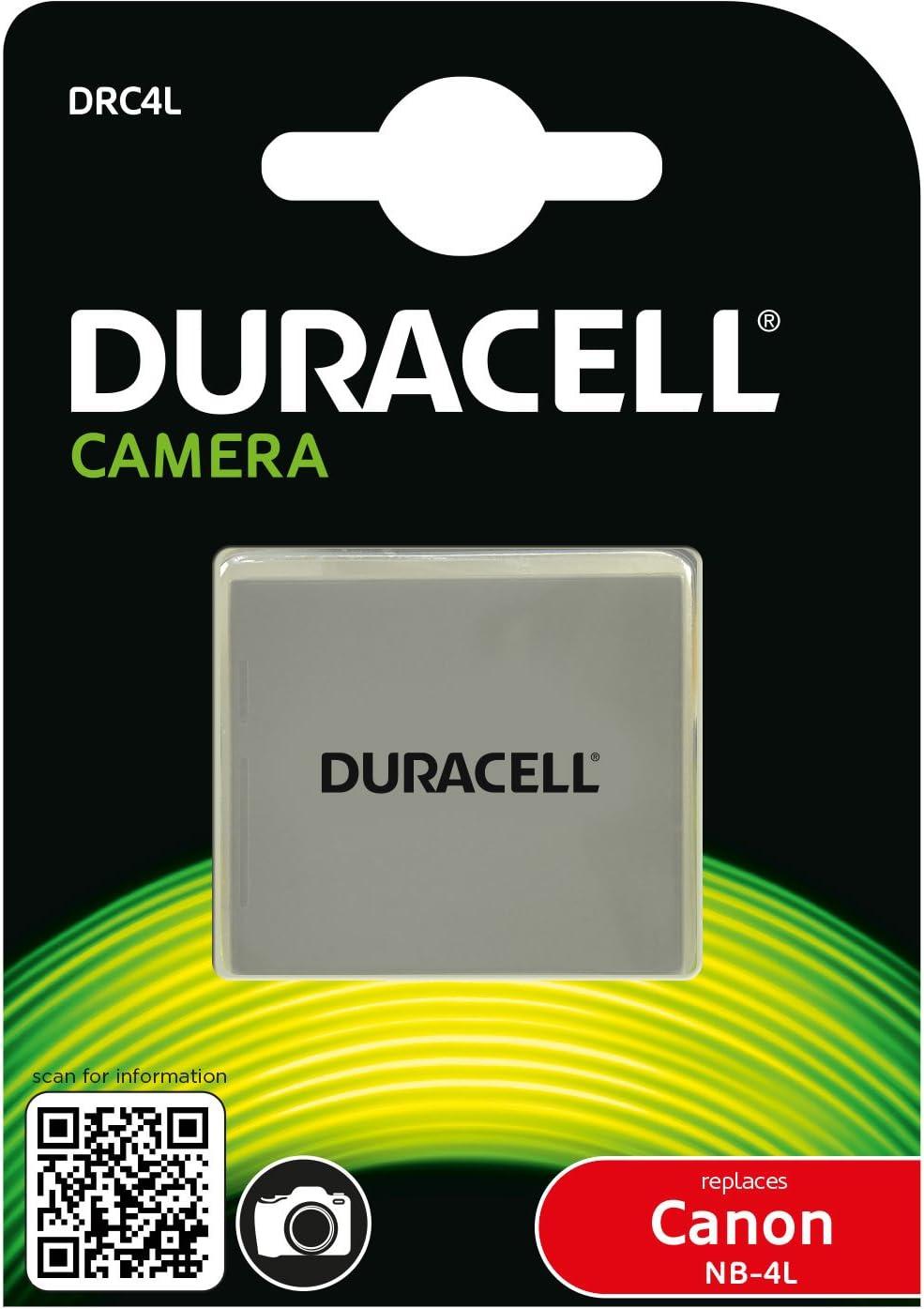 Duracell Drc4l Li Ion Kamera Ersetzt Akku Für Nb 4l Elektronik