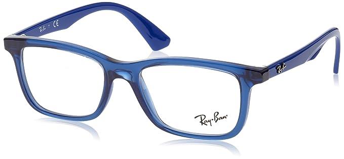 Ray-Ban Junior - RY 1562, Rechteckig, Propionat, Kind, TRANSPARENT BLUE(3686), 48/16/125