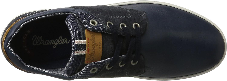 Wrangler Owen City Low-Top voor heren blauw (navy)