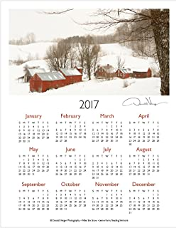 Amazon.com : 2017 One Page Fine Art Nature Wall Calendar. Spirit ...