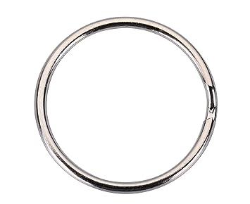 Amazon.com: i-mart llavero, llavero de anillas clips Metal ...