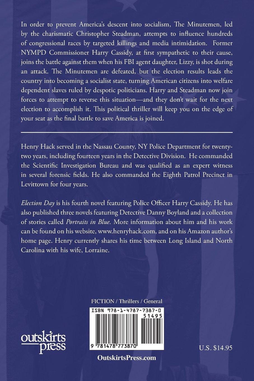 Election Day: A Harry Cassidy Novel: Henry Hack
