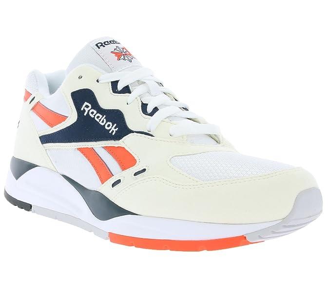 Reebok Bolton para hombre clásicas zapatillas blancas V69393 , Size:38.5: Amazon.es: Zapatos y complementos