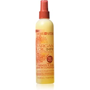 Amazon Com Creme Of Nature With Argan Oil Strength Shine Leave