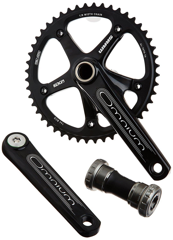 SRAM GXP 172.5mm 48T Black Omnium Track Crankset w/BB [並行輸入品] B077QFXJRH