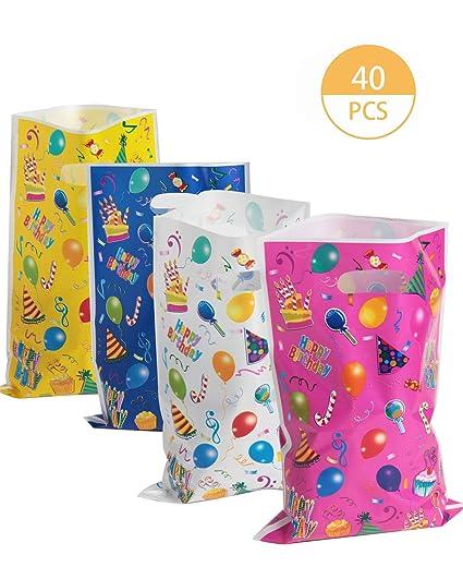 Amazon.com: SBYURE - Bolsas de plástico para fiestas ...