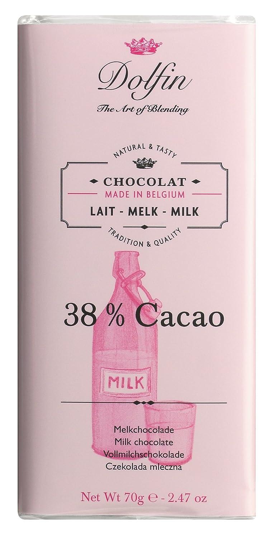 Dolfin Chocolate con Leche - 3 Paquetes de 1 x 70 gr - Total: 210 gr: Amazon.es: Alimentación y bebidas