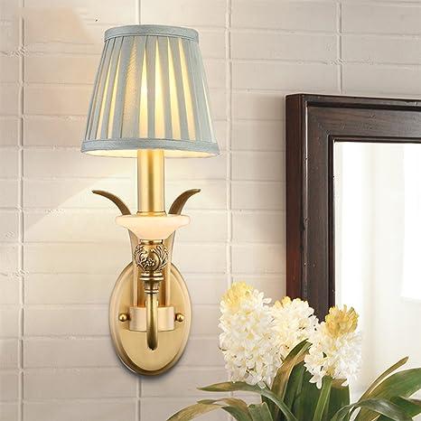 YI.LAN.YI LIGHT Telas de cobre de la carcasa de la lámpara ...