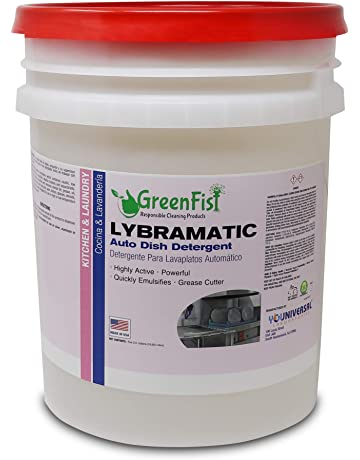 GreenFist Lybramatic | Commercial Industrial Grade Dishwasher [Ready-to-Use] Liquid Detergent