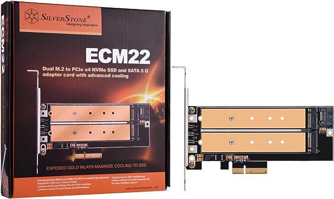 Silverstone Sst Ecm22 Pci E Erweiterungskarte 1x Elektronik