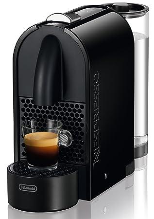 Nespresso U Black EN 110 B DeLonghi - Cafetera monodosis (19 bares, Máquina Táctil, Depósito modular), Color negro (Reacondicionado Certificado): Amazon.es: ...
