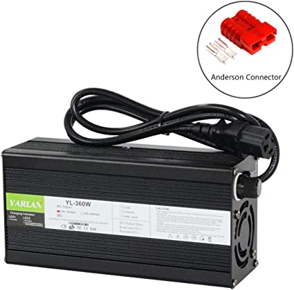 54.6V 4A Lithium Battery Charger for 48V 4A Li-ion Ebike Car Power with XLR Plug