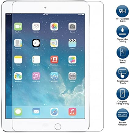 REAL GENUINE TEMPERED GLASS FILM LCD SCREEN PROTECTOR FOR  IPAD AIR 1 /& 2