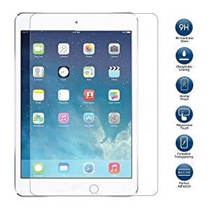 Kavacha Tempered Glass Screen Guard Protector for Apple iPad Air 2 Tablet Screen guards