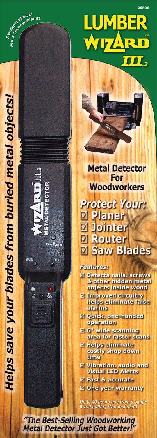 Lumber Wizard Woodworking Metal Detector