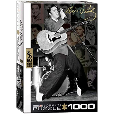 EuroGraphics Elvis Live at Olympia Theater (1000 Piece) Puzzle: Toys & Games
