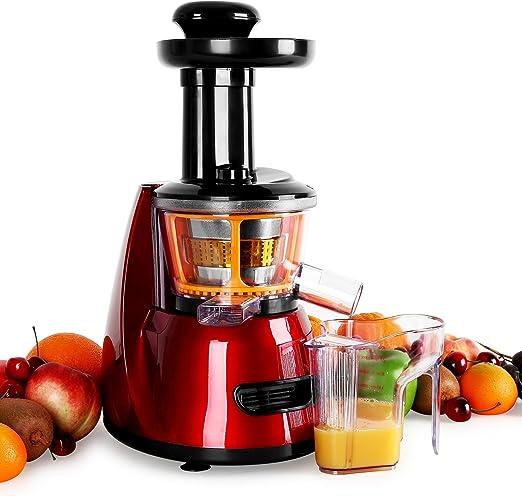 Klarstein Fruitpresso Bella Rossa - Extractor de Zumo, juguera ...
