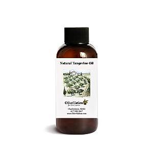 OliveNation Natural Tangerine Oil, Food Grade Essential Tangerine Oil for Candy, Chocolates, Baking, Non-GMO, Gluten Free, Kosher, Vegan - 4 ounces