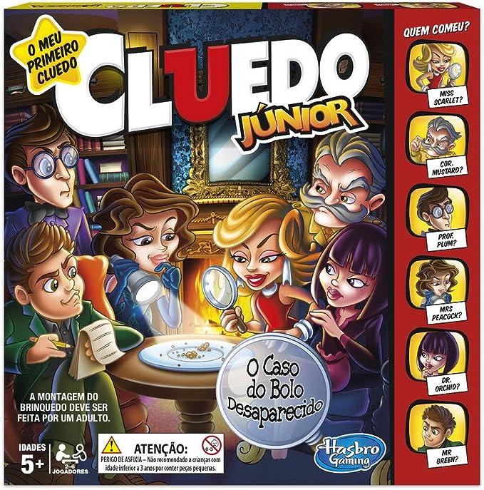Hasbro Gaming - Cluedo junior (Hasbro C1293190) (versión en ...