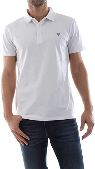 Guess M92P18 J1300 Polo Hombre White XXL: Amazon.es: Zapatos y ...