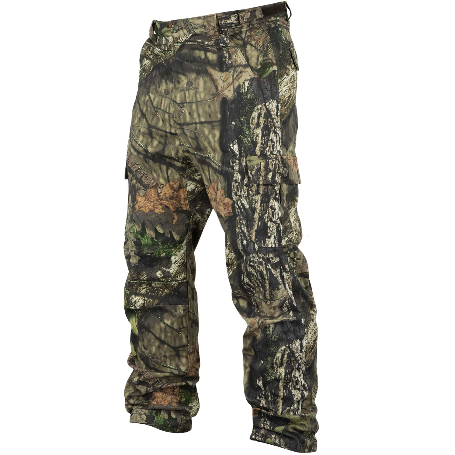 Mossy Oak Men's Cotton Mill 2.0 Camouflage Hunting Pant in Multiple Camo Patterns