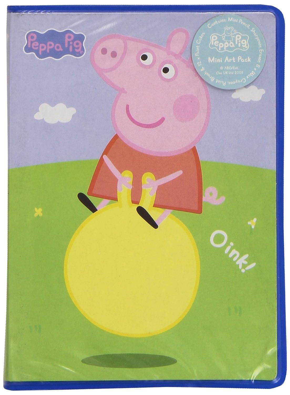 Peppa Pig - Mini Estuche para Pinturas, 14 x 10 cm (Fantasy PP0058/7146)