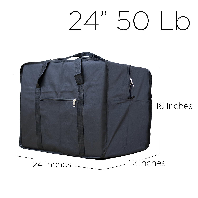Amazon.com   Square Travel Duffle Bag Bolsa Maleta de Lona ...