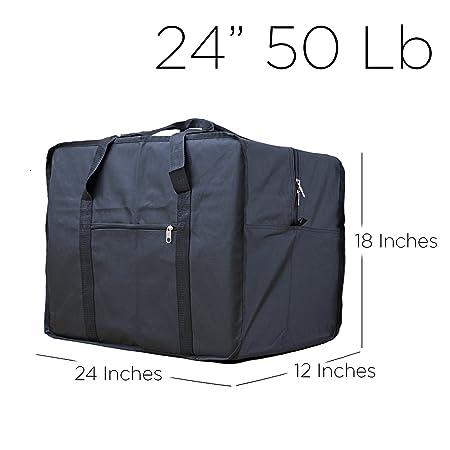 Amazon.com | Square Travel Duffle Bag Bolsa Maleta de Lona ...