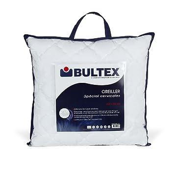 oreiller bultex special cervicales Spécial Oreiller rectangulaire BULTEX spécial cervicales Blanc  oreiller bultex special cervicales