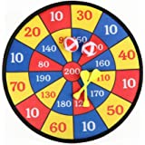 """Game Toy 11.8"""" Velcro Dart Board Safety Set with 2 Velcro - Wrapped Balls for Kids"""