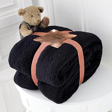 Teddy Bear Luxurious Throws Super Soft Warm Cosy Sofa And Bed Fleece Blankets Gc Home & Garden Home Décor