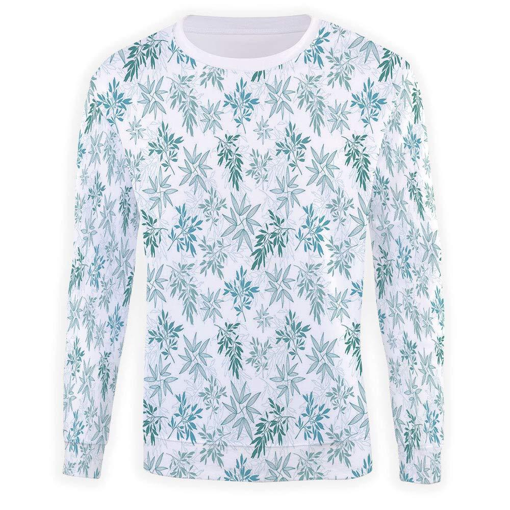 MOOCOM Adult Teal Crewneck Sweatshirt