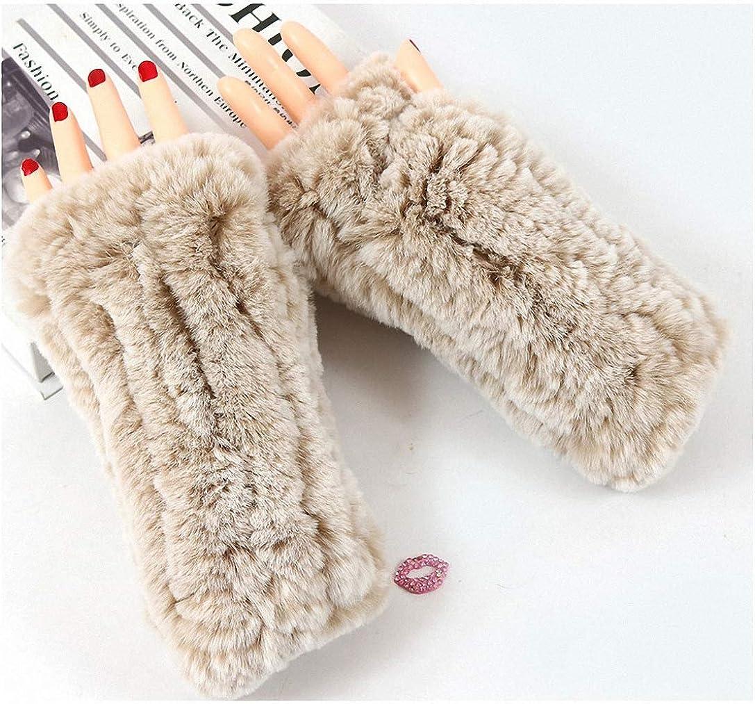 Gloves Women's Knitted Rex...