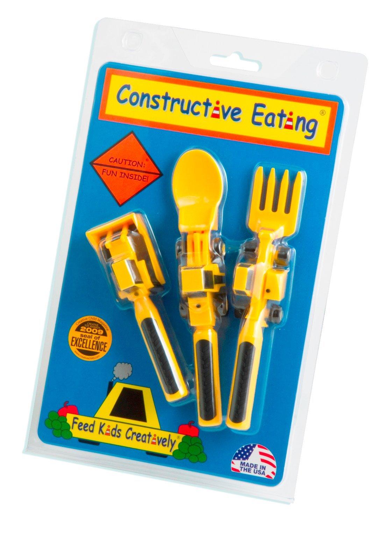 Constructive Eating Utensils Set